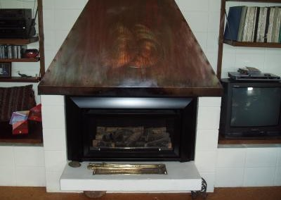 Escea Gas Inbuilt Fireplace