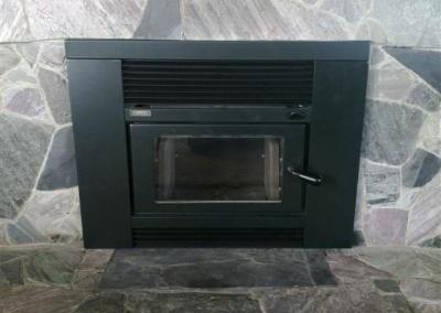 MetroEco Smart Inbuilt Woodfire