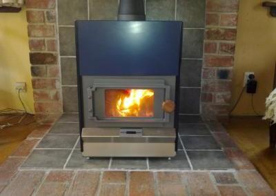 Pyroclassic Freestanding Woodfire